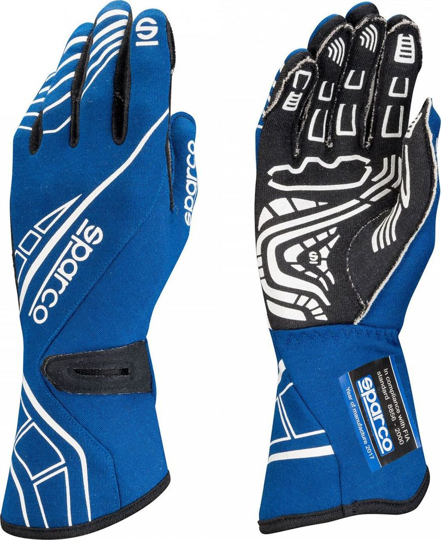 Sparco Rękawice rajdowe Sparco LAP RG-5 Blue (homologacja FIA) 12 1