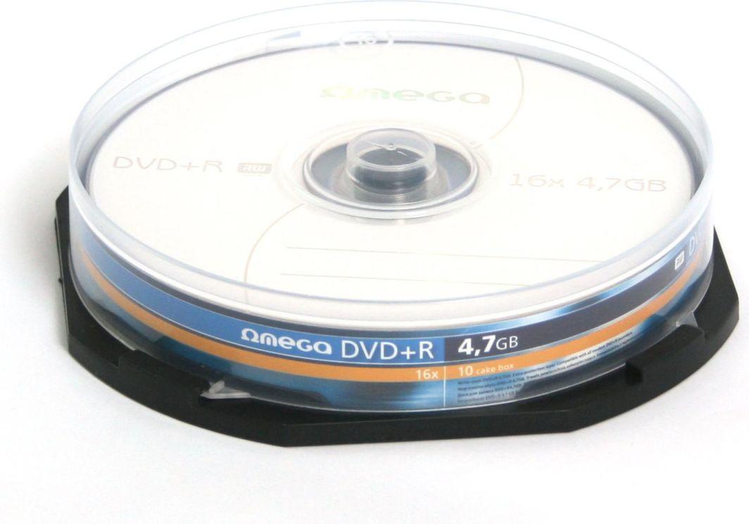 Platinet DVD+R 4.7 GB 16x 10 sztuk (OMD1610+) 1