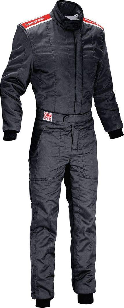 OMP Racing Kombinezon OMP SPORT czarny (homologacja FIA) S 1