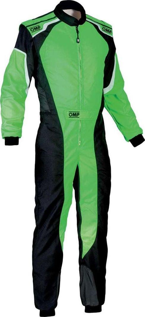 OMP Racing Kombinezon dziecięcy OMP KS-3 MY19 zielony (Homologacja CIK FIA) 130 1