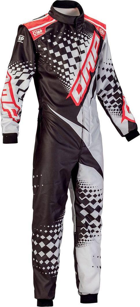 OMP Racing Kombinezon OMP KS-2R czarno/biały/czerwony (homologacja CIK-FIA) 60 1