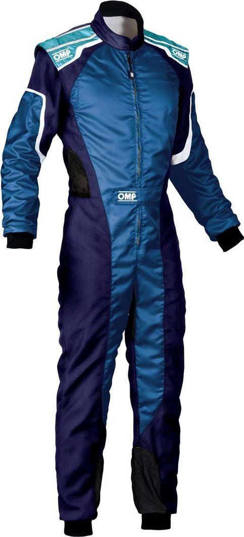 OMP Racing Kombinezon dziecięcy OMP KS-3 MY19 niebieski (Homologacja CIK FIA) 150 1