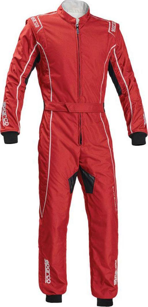Sparco Kombinezon dziecięcy Sparco Groove KS-3 czerwono/biały (homologacja CIK FIA 150 1