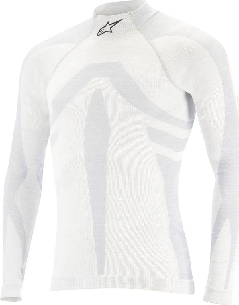 Alpinestars Golf Alpinestars ZX EVO Longsleeve biały (homologacja FIA) XL/XXL 1