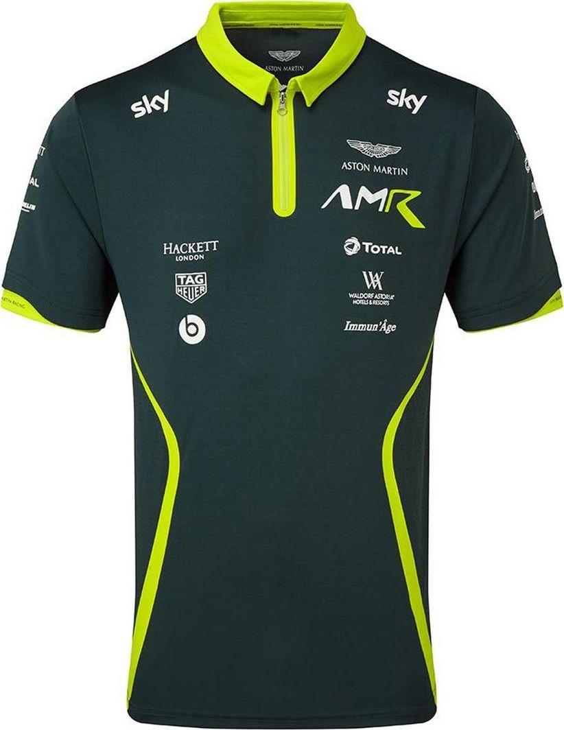 Aston Martin Racing Koszulka męska Team zielona r. XS 1