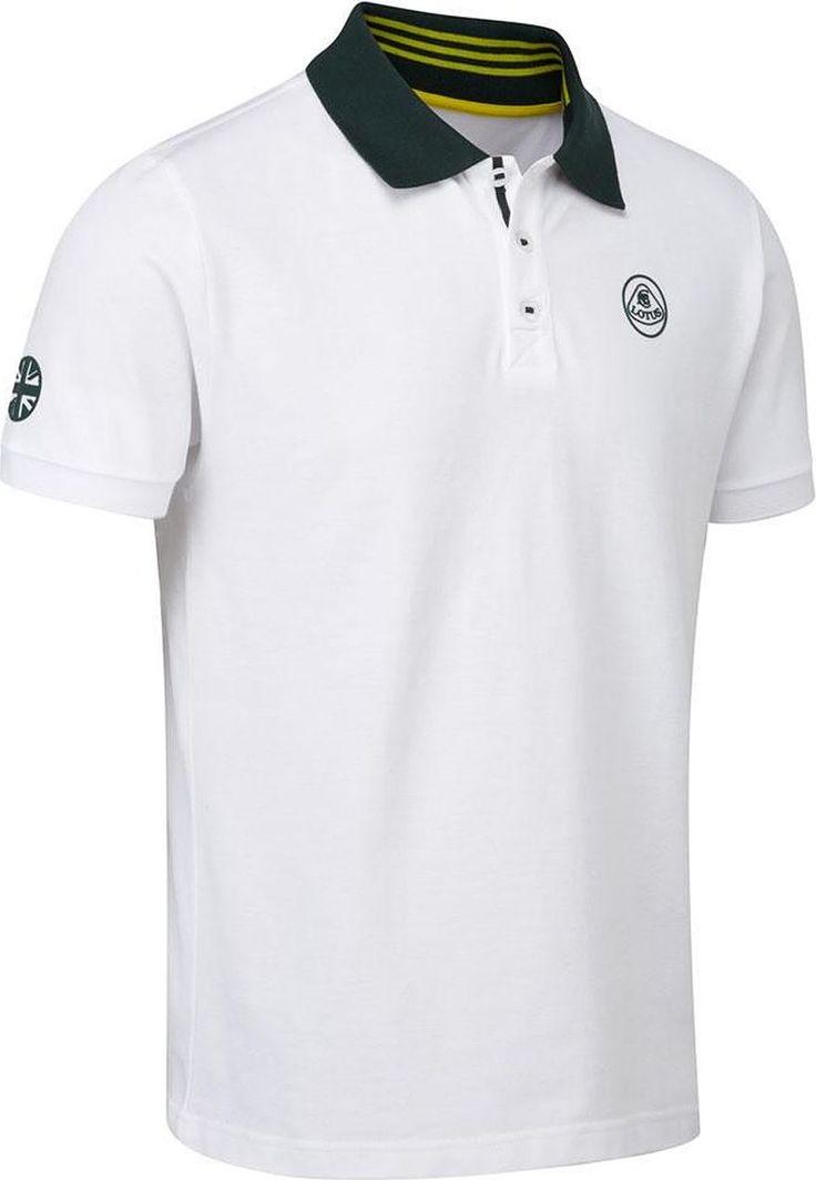Lotus Koszulka męska Logo biała r. XS 1