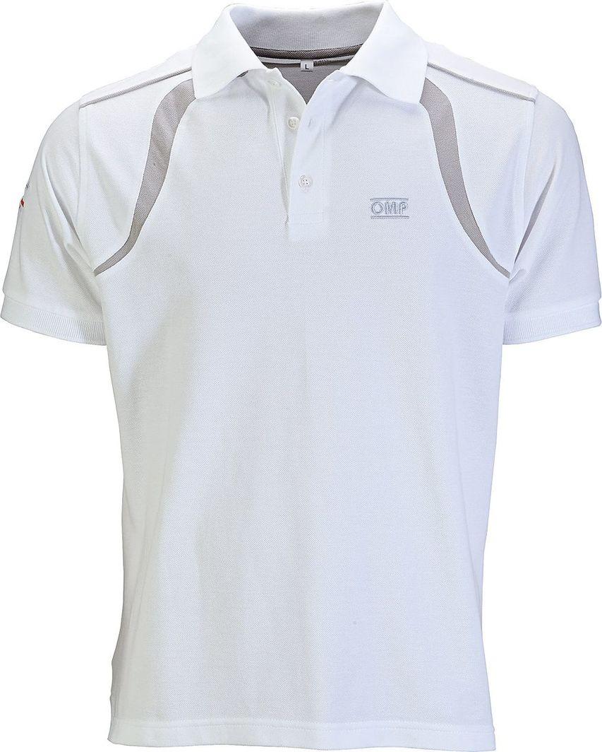OMP Racing Koszulka męska Spirit Biała r. XL 1