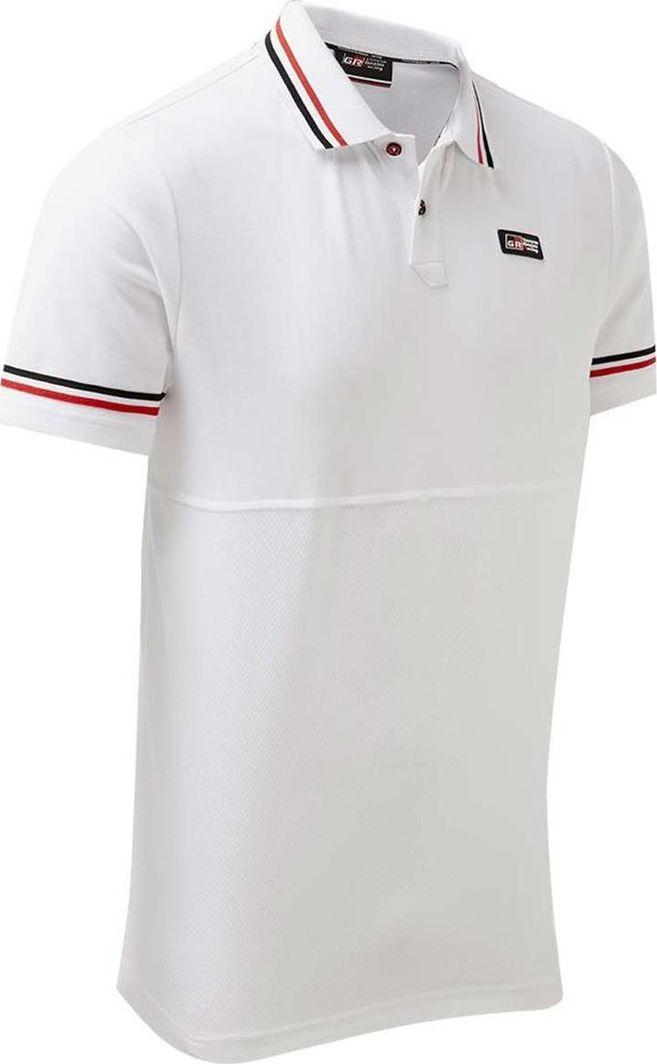 Toyota Gazoo Racing Koszulka męska Racing Polo biała r. XXXL 1