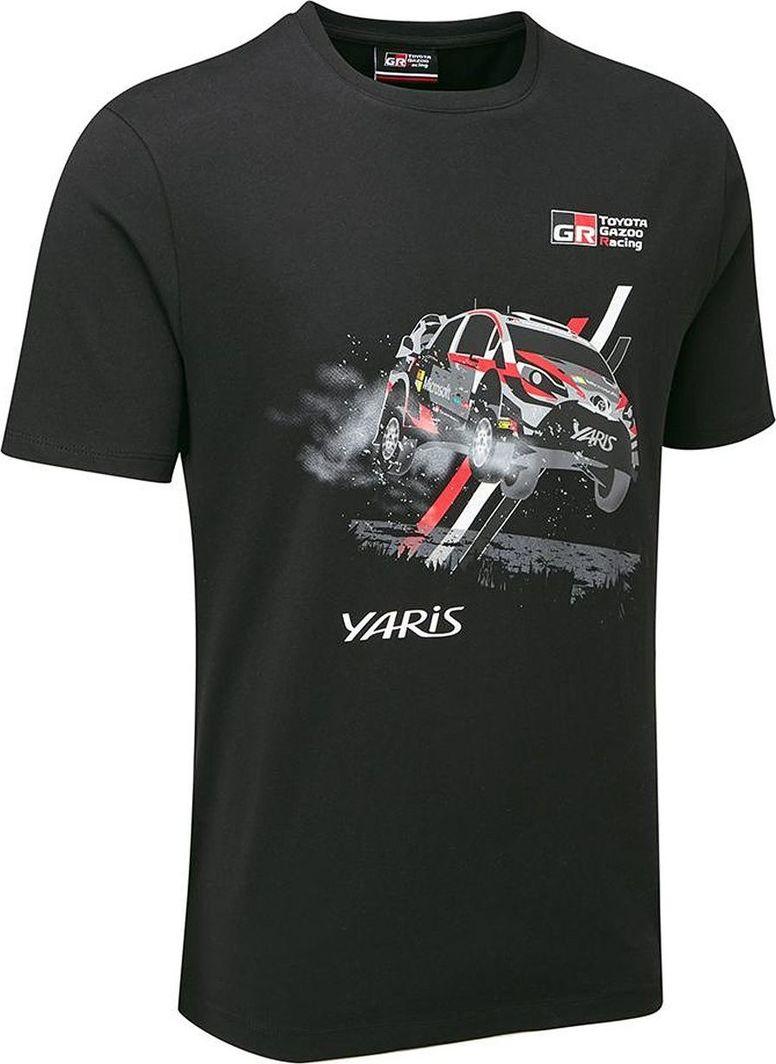 Toyota Gazoo Racing Koszulka męska Car WRT czarna r. M 1