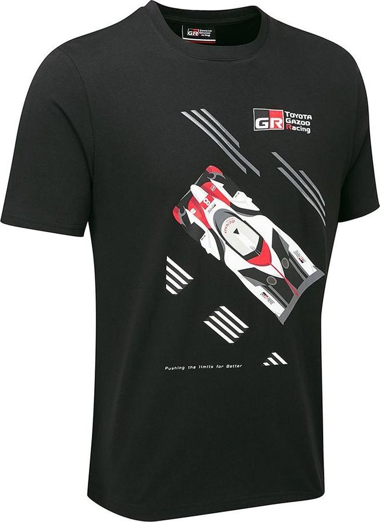 Toyota Gazoo Racing Koszulka męska Car czarna r. L 1
