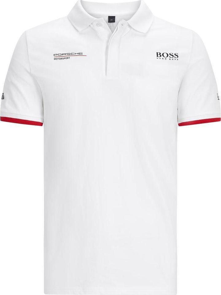 Porsche Motorsport Koszulka męska Team biała r. XL 1