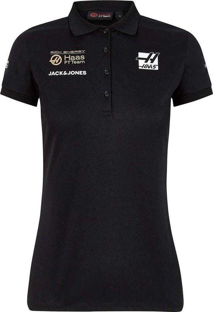 Haas F1 Team Koszulka damska Rich Energy czarna r. XL 1