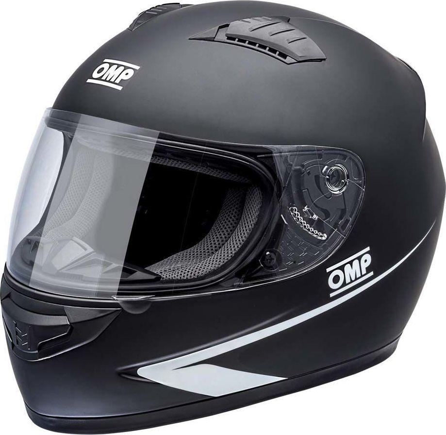 OMP Racing Kask kartingowy OMP CIRCUIT MY17 czarny XS 1