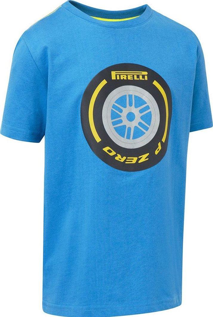 Pirelli Koszulka dziecięca niebieska r. M 1