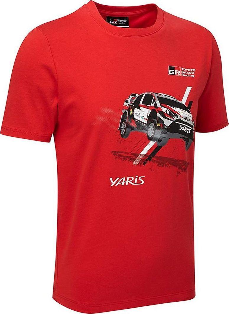 Toyota Gazoo Racing Koszulka chłopięca Car czerwona czerwona r. XL 1