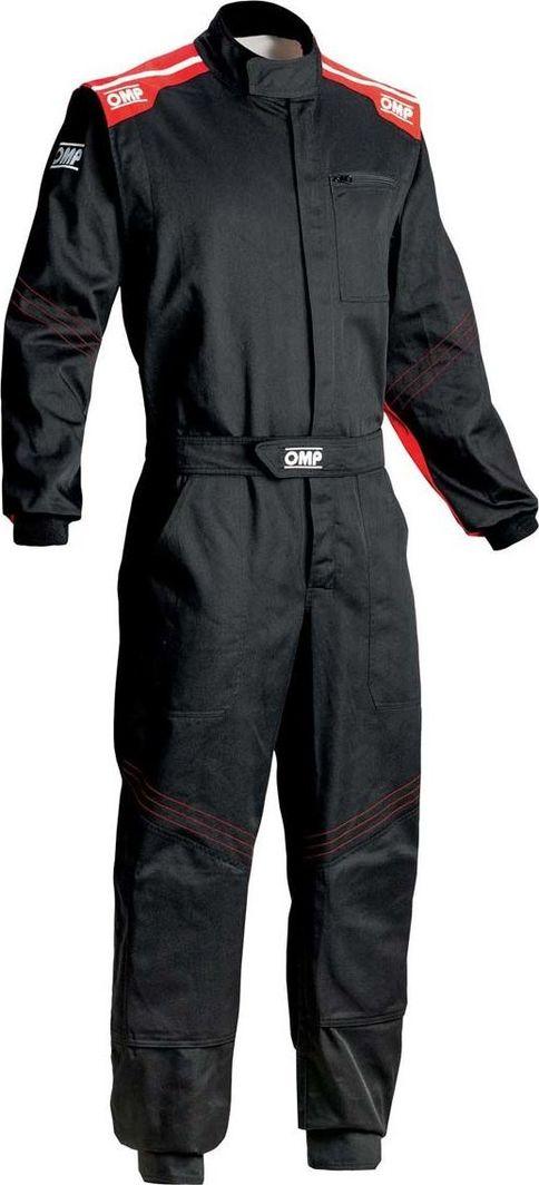 OMP Racing Kombinezon roboczy OMP BLAST EVO czarno-czerwony 46 1