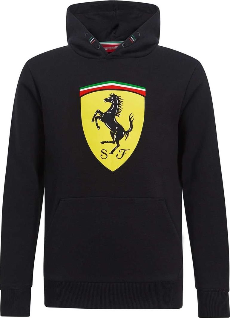 Scuderia Ferrari F1 Team Bluza dziecięca Logo czarna r. 104 cm 1