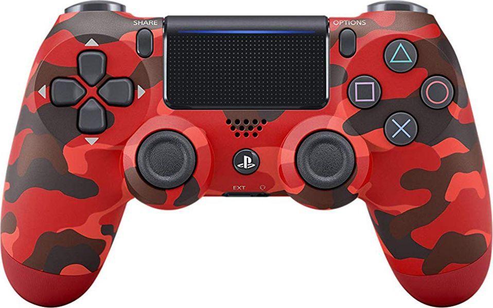 Gamepad Sony Dualshock 4 Red Camo v2 (PS4) 1