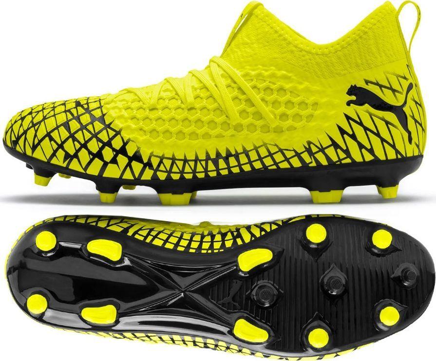 Football boots Puma Future 4.3 Netfit Fg Ag M 105612 01 grey