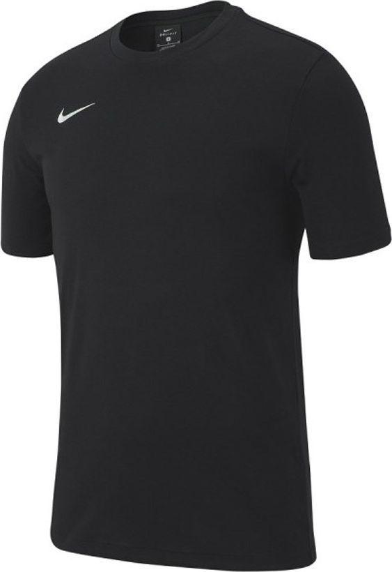 Nike Nike JR Team Club 19 T-Shirt bawełna 010 : Rozmiar - 152 cm (AJ1548-010) - 16351_182078 1