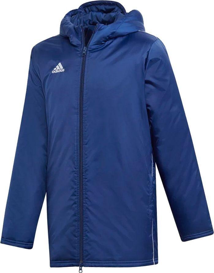 Adidas adidas JR Core 18 Kurtka zimowa 198 : Rozmiar - 140 cm (DW9198) - 10512_163824 1