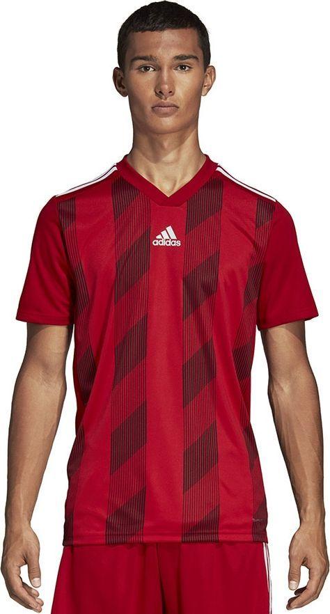 Adidas Koszulka męska Striped 19 JSY czerwona r. XL (DP3199) 1