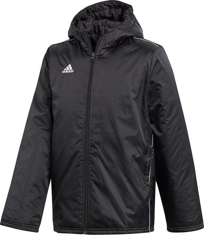 Adidas adidas JR Core 18 Kurtka zimowa 058 : Rozmiar - 176 cm (CE9058) - 11104_165608 1