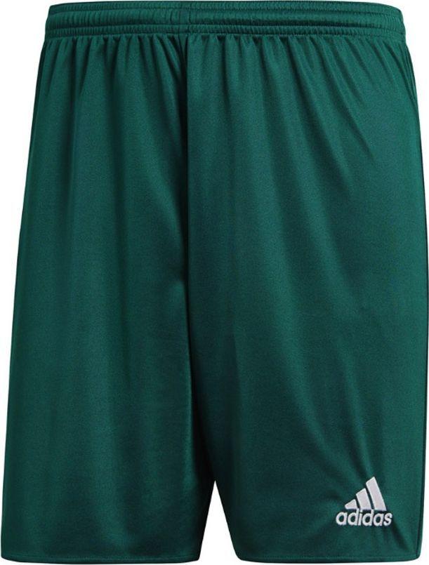 Adidas adidas JR Parma 16 Short zielone 698 : Rozmiar - 164 cm (DM1698_JR) - 10867_164890 1
