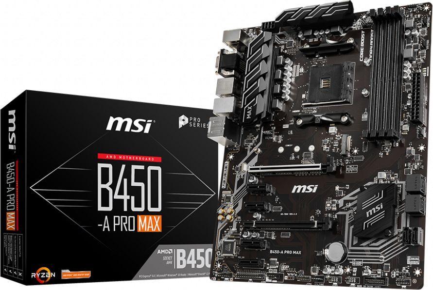 Płyta główna MSI B450-A PRO MAX 1
