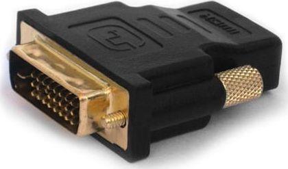 Adapter AV Elmak Adapter HDMI AF - DVI-D M 24+1 Savio CL-21 wielopak 10 szt., złote kontakty- 1