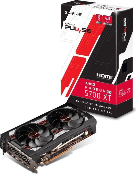 Karta graficzna Sapphire Radeon RX 5700 XT Pulse 8GB GDDR6 (11293-01-20G) 1