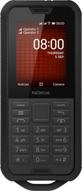 Telefon komórkowy Nokia 800 Tough Czarny 1