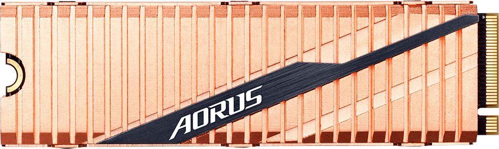 Dysk SSD Gigabyte Aorus 500 GB M.2 2280 PCI-E x4 Gen4 NVMe (GP-ASM2NE6500GTTD) 1