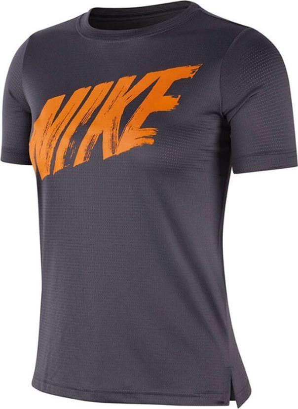 Nike Koszulka dziecięca Y Dri Fit szara r. S (AQ9554 021) ID produktu: 6282476