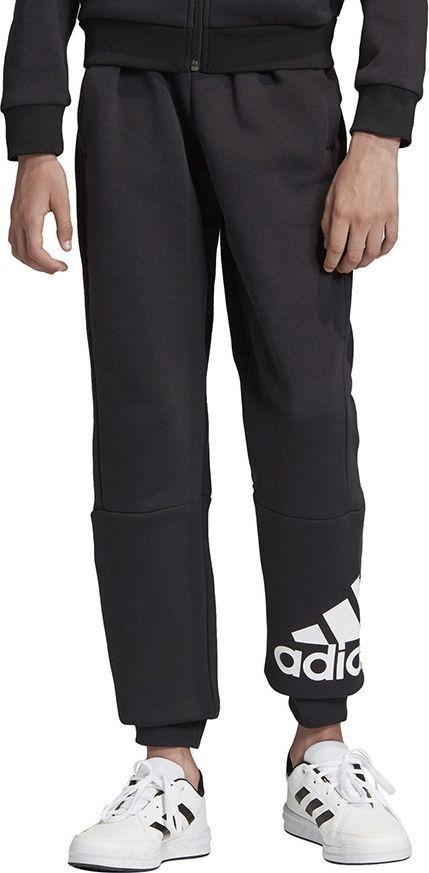 Adidas Spodnie adidas YB MH BOS P FL ED6461 ED6461 szary 128 cm 1