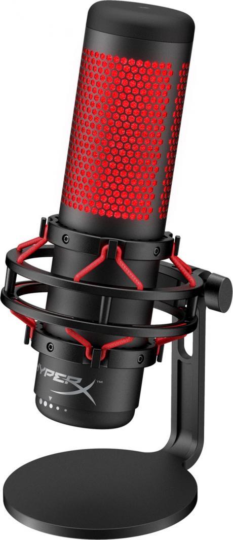 Mikrofon HyperX QuadCast (HX-MICQC-BK) 1