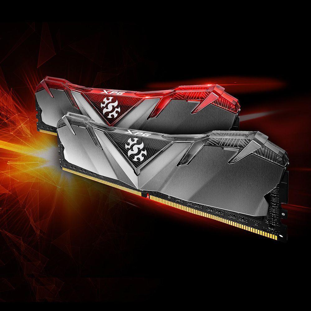Pamięć ADATA XPG D30, DDR4, 8 GB, 3200MHz, CL16 (AX4U320038G16-SB30) 1