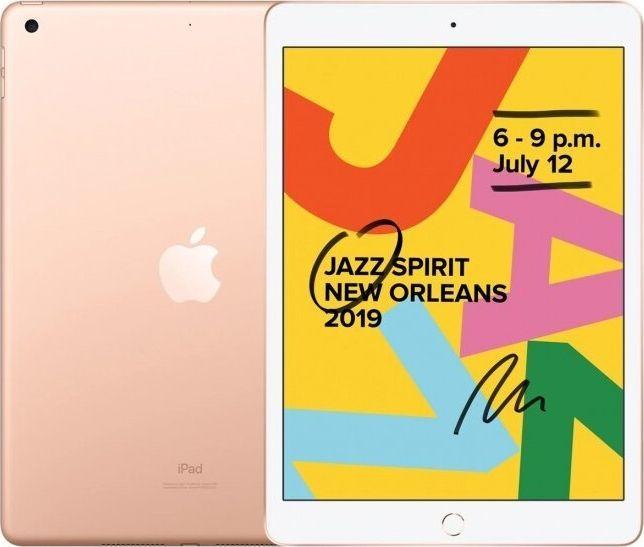 "Tablet Apple iPad 2019 10.2"" 32 GB Złoty  (MW762FD/A) 1"