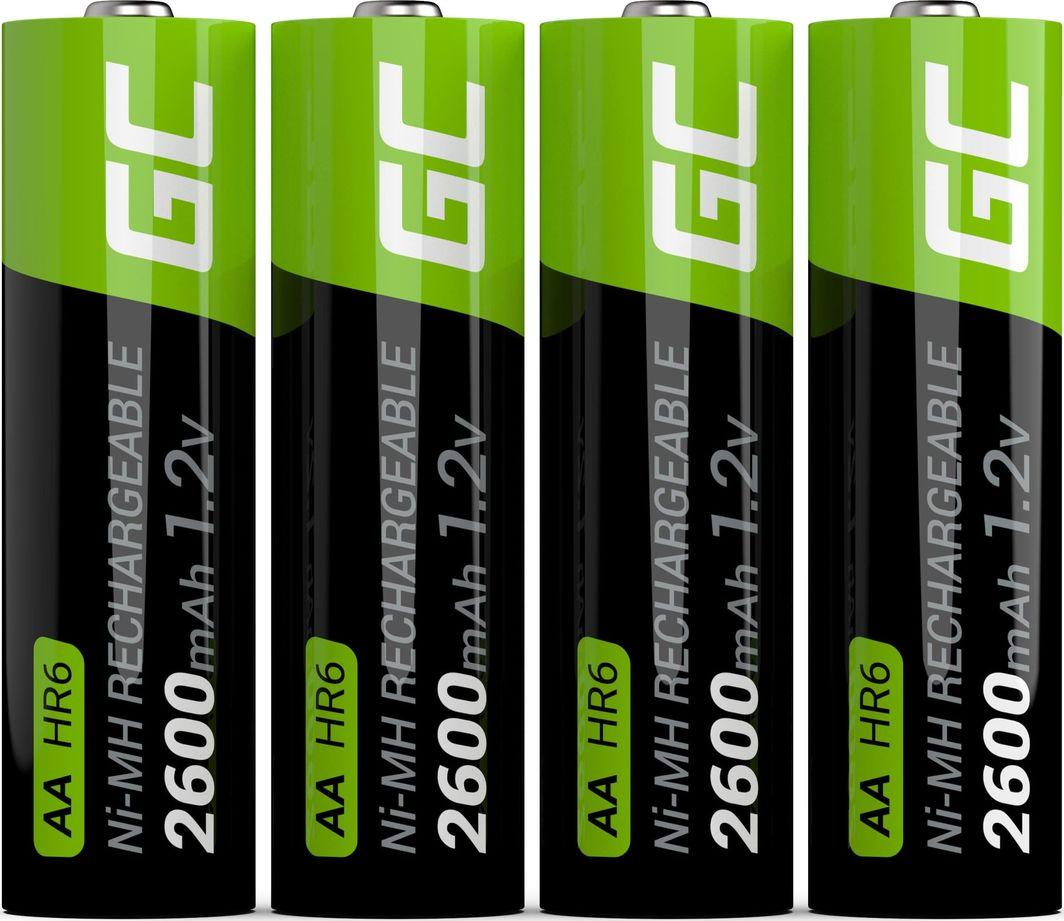Green Cell Akumulator AA / R6 2600mAh 4szt. 1