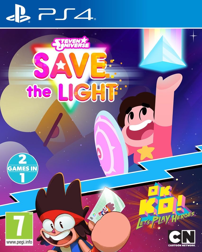 Gra Steven Universe: Save the Light & OK K.O.! Lets Play Heroes (PS4) 1