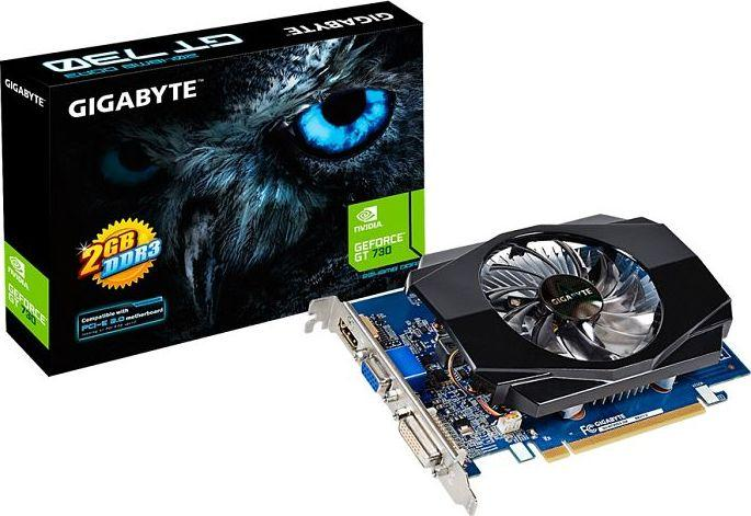 Karta graficzna Gigabyte GeForce GT 730 2GB GDDR3 (GV-N730D3-2GI V3.0) 1