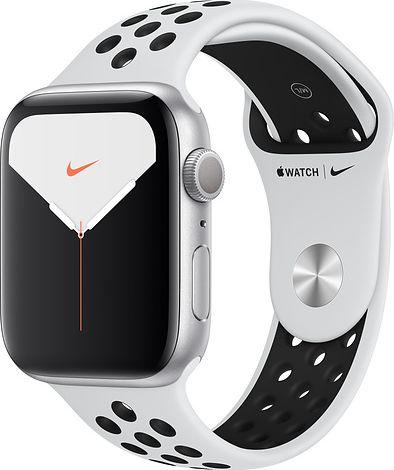 Smartwatch Apple Watch Nike Series 5 GPS+Cellular 40mm Silver Alu Biały  (MX3C2FD/A) 1
