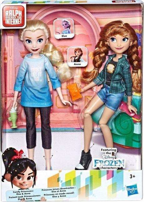 Hasbro Disney Lalka Elsa i Anna 2-Pak z filmu Ralph Demolka w internecie (E7417) 1