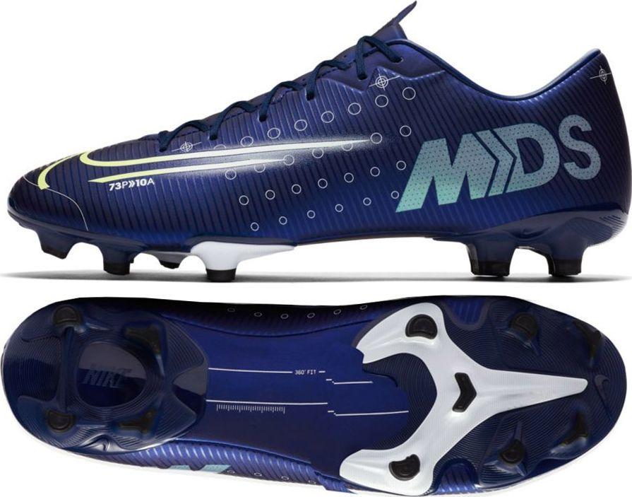 Nowe Buty piłkarskie Nike Mercurial Vapor 11 FG ŻÓłty Czarny Niebieski