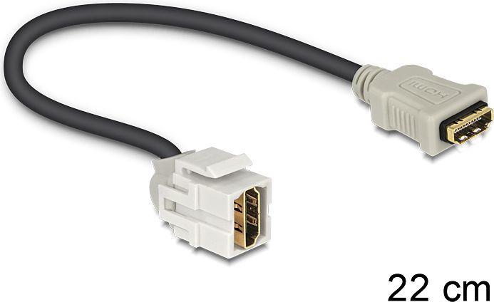 """Delock HDMI żeński - HDMI żeński 110"""" (86326) 1"""