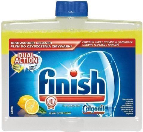 Finish Finish płyn do czyszczenia zmywarki Lemon 250ml 1