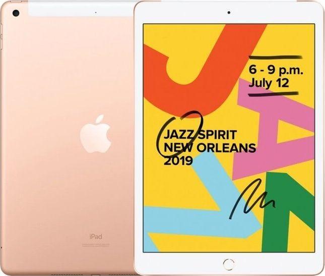 "Tablet Apple iPad 2019 10.2"" 128 GB 4G LTE Złoty  (MW6G2FD/A) 1"