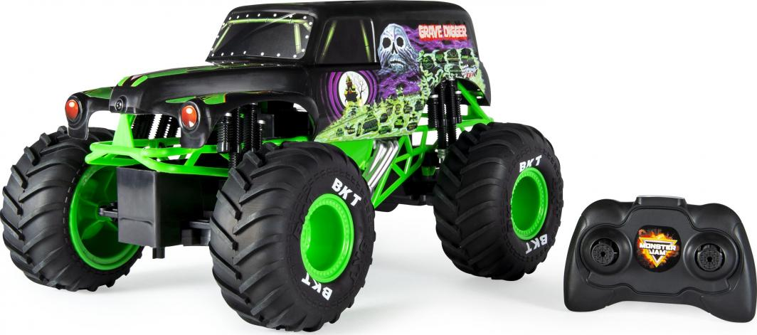 Spin Master Auto RC Monster Jam 1:15 GRAVE DIGGER (6045003) 1