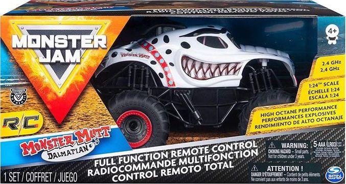 Spin Master Monster Jam Rc biały (6044951) 1
