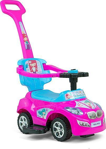 Milly Mally Jeździk Happy Pink-Blue 1